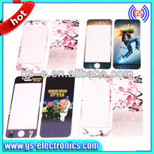 Fashionable Customized Color for iPhone 5 Cartoon Screen Protector