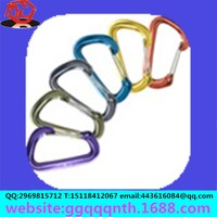 Flat Style D Shaped Wire Gate Carabiners | Best Quality Carabiners with Custom logo