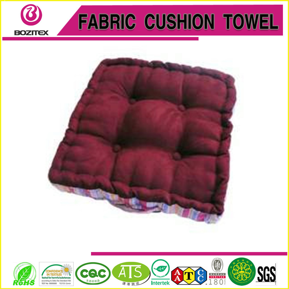 flat button cushion