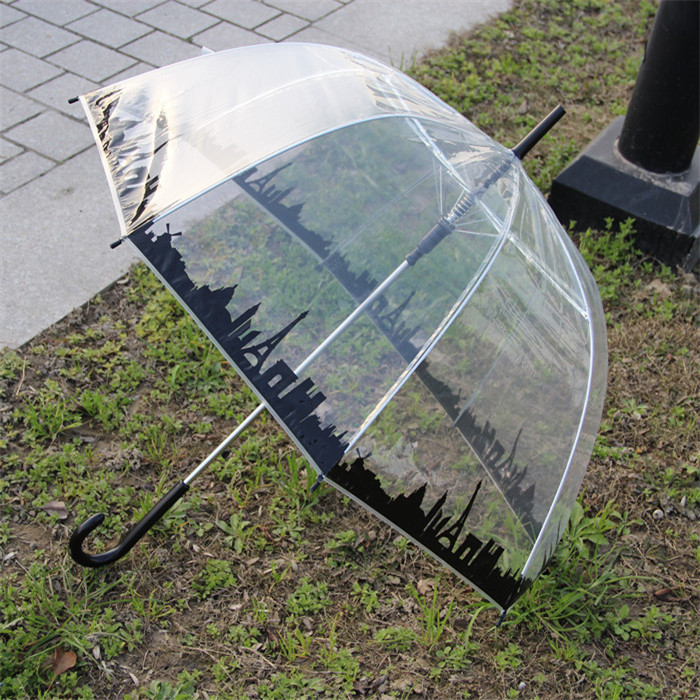 Wholesale OEM Clear Umbrella Hat. Dome Umbrella