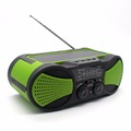 amazon hot selling emergency hand rank solar power charger weather am radio