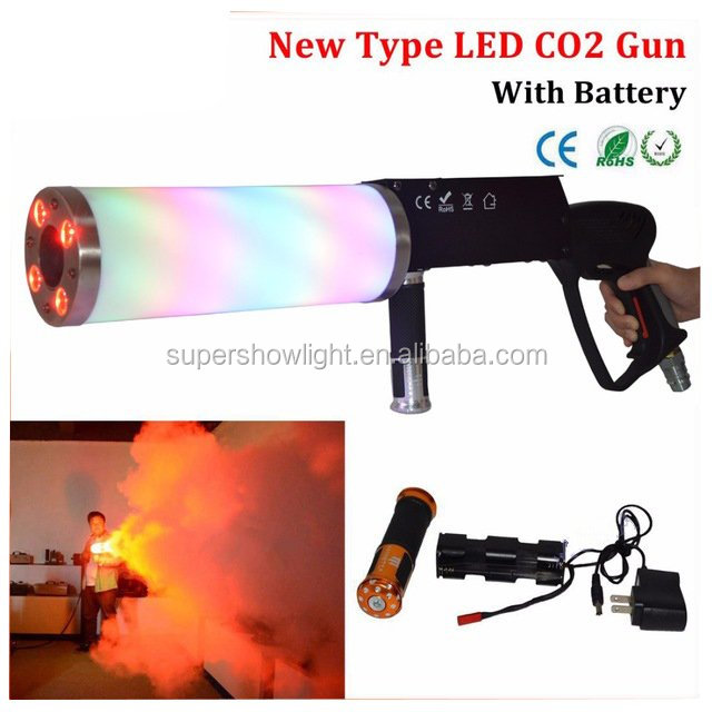 Stage Lighting Effect Co2 Machine Gun With 3M Co2 Gas hose