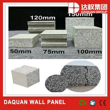 PU polyurethane insulated decorative exterior sandwich wall panels