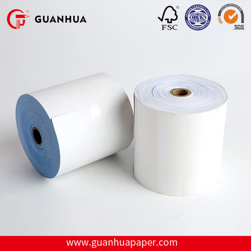 2017 New brand coupon color bond paper 76mm roll