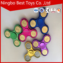 Cheap Metal-like Glitter Shiny EDC Finger Toy Anti Stress fidget spiner toys