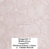 Embossed pebble grain High gloss leather Camouflage pattern foil pvc leather Huahong PVC Leather for decorative