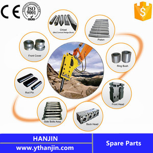 Competitive Price and Top Quality Hydraulic Breaker Hammer Spare Parts