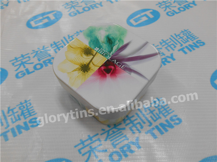 fashional square candle packaging tin boxes for candle wax