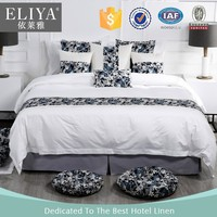 ELIYA hotel bedding sets ,organic 100% cotton fabric printed for sheets