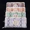 Wholesale Purple top quality lady clutch purse pu leather brand women wallets