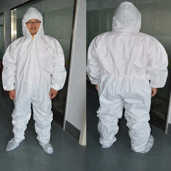 disposable non woven european standard protection coverall