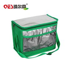 Recycle insulating warming fruit holder fitness vegetable storage collapsible wine bag cooler