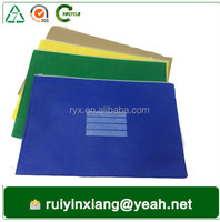 Guangzhou stationery manufacturer make zipper file folder bag