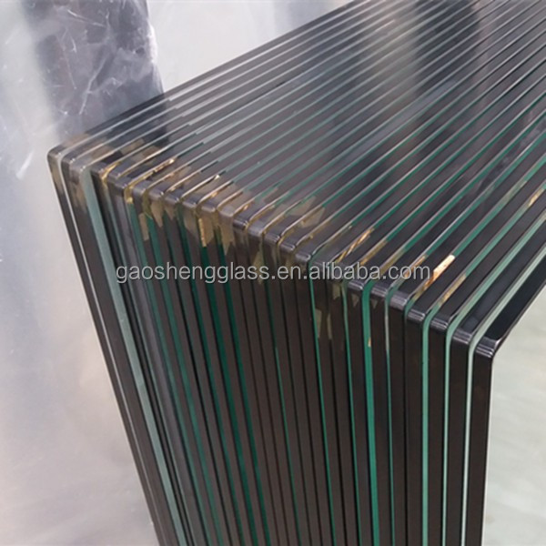 8mm 6mm tempered bathroom glass wall panel