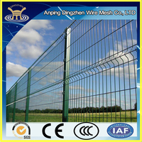 Decorative Ornamental Wire Fence Triangle Bending