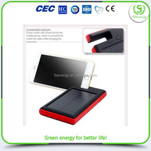 China supplier manufacture new import solar charger dual usb external battery