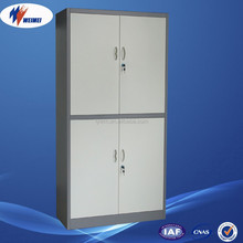 China Factory Metal 4 Door Bedroom Clothes Steel Cupboard Design