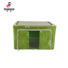 2017 wholesale high quality foldable cube fabric storage box