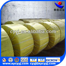 calcium silicon cored wire/casi superfine powder metal alloy for steelmaking