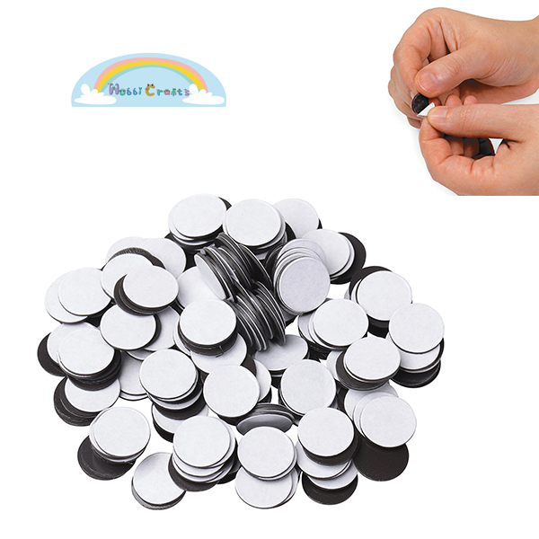 Wholesale Disc Peel and Stick Adhensive Rubber Magnetic Dots