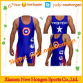 plus size cheap sublimated wrestling singlets, china wrestling singlets