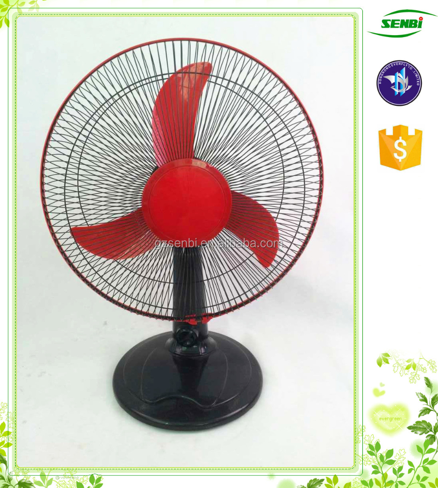 electric fan/16 inch 12 inch desk fan/dc solar table fan