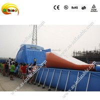 Inflatable metal frame swimming pool water pool tank