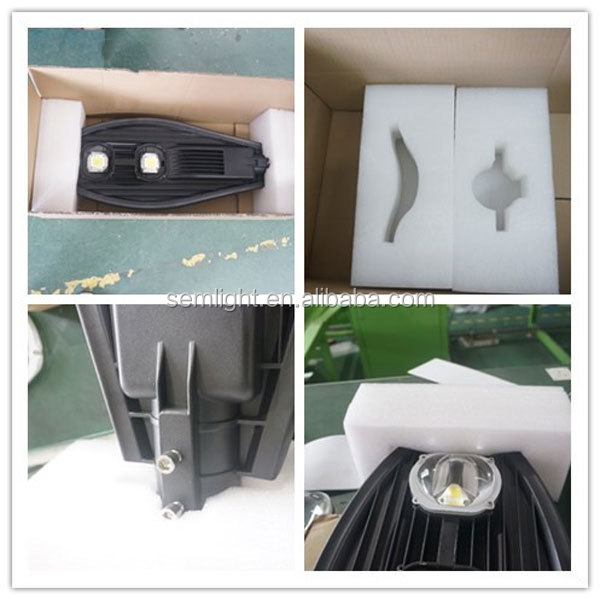 30W 40W 50W 60W 80W 100W 120W 150W High Lumen LED Street Lights
