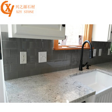 Prefab Granite Countertop Customizable Gray-White Granite Countertops