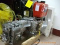 Air-cooled sailboat diesel inboard engine D40H