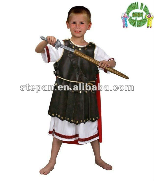 TZ-69047 Roman Gladiator Carnival Costume For Children