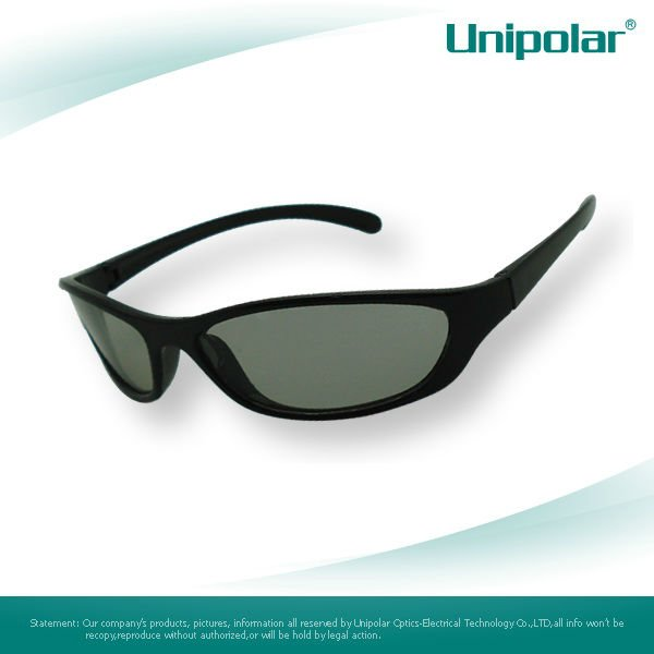 Stylish Thicken Lenses 3D Glasses for Video