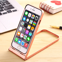 Aluminium metal Case for iphone bumper case for Iphone 6/6s 6/6s plus