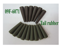 high quality Lead clip tail rubber for carp fishing tackle
