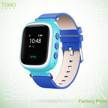 Splash waterproof Kids led Watches GPS Personal/Mini Tracker real time GPS Watch for kids