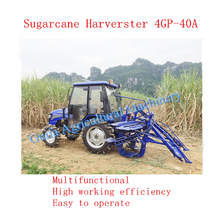 2017 Hot Selling Sugarcane Harvester 4GP-40A/Sugarcane cutting machine/whole stalk sugarcane harvester