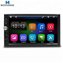 Wholesale Universal 7 Inch 2 Din Touch Screen Bluetooth Car Stereo with New C200S Chip / Mirror Link /New UI /Fast Charging