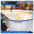 Artificial ice hdpe synthetic ice rink skating boards uhmwpe hockey shooting pads