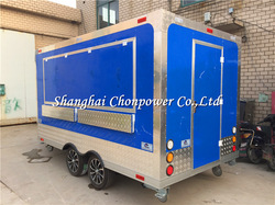 CP-A230165210 Two wing windows food steamer kiosk food service cart catering street food with best price
