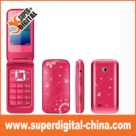 Flip phones 2.4 inch Gsm quad band X32