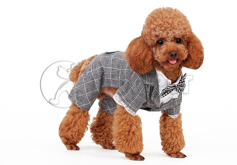 Puppy Dog Accessories Comfortable Cotton Daily Full Dress