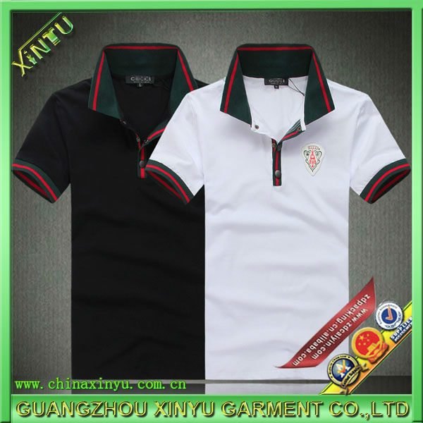 Promotional polo collar shirt for man online shopping