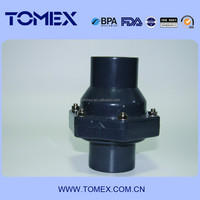 ONE WAY OR TWO WAY UPVC SWING CHECK VALVE ASTM STANDARD GREY COLOR