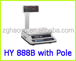 HY588 price scale, RS232 interface electronic scale