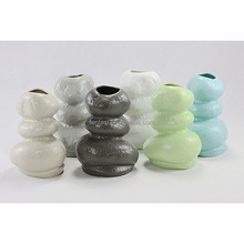 Wholesale morden matte glazed ceramic flower vase