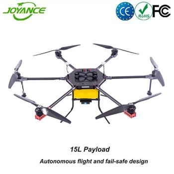 15L large payload automatic flight drone agriculture sprayer UAV for crop spraying