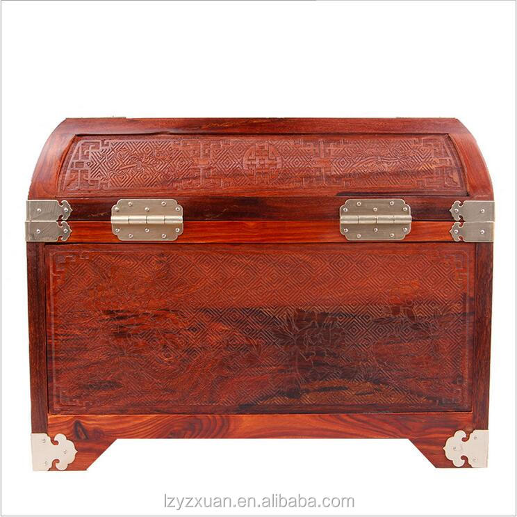 Fashionable patterns good looking wooden jewelry box kit with lock
