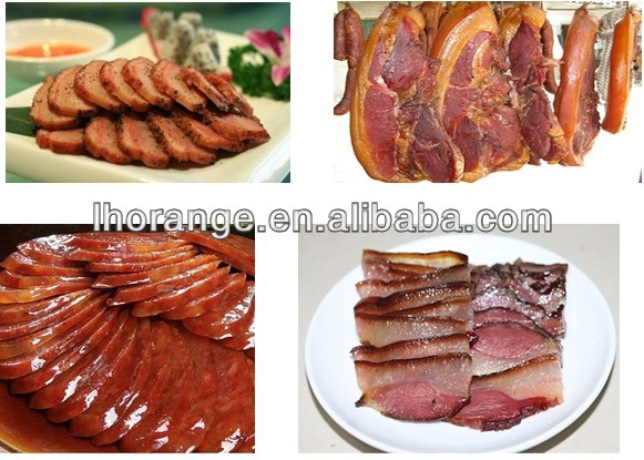 best selling Industrial Meat Smoking house