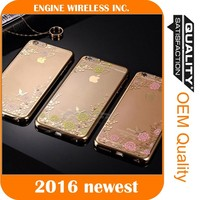 mobile phone case factory armor case clear for iphone 5c case