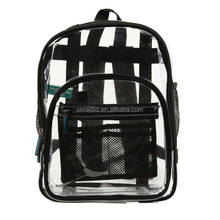 OEM small clear vinyl backpack